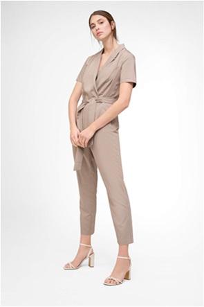 Orsay γυναικεία ολόσωμη φόρμα μονόχρωμη με ζώνη στη μέση