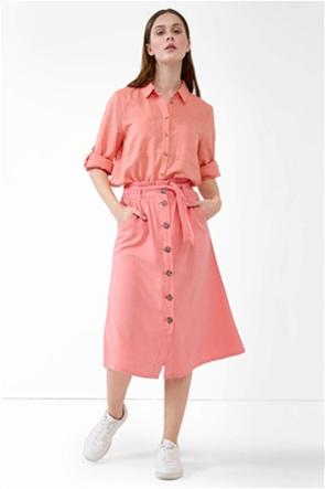 Orsay γυναικεία midi φούστα με κουμπιά