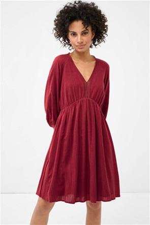 Orsay γυναικείο mini φόρεμα με μανίκι 3/4