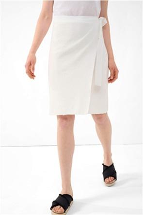 Orsay γυναικεία midi φούστα με wrap effect