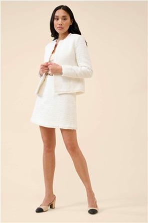 Orsay γυναικείο σακάκι με κρόσια στο τελείωμα