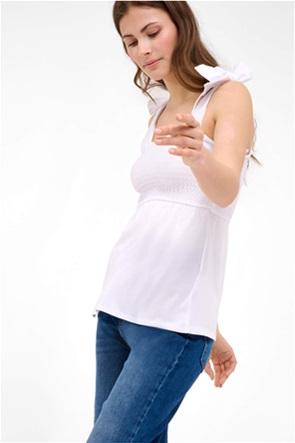 Orsay γυναικεία μπλούζα με λάστιχο σφηκοφωλιά