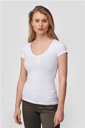 Orsay γυναικείο Τ-shirt με στρογγυλή λαιμόκοψη