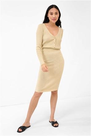 Orsay γυναικεία midi φούστα lurex