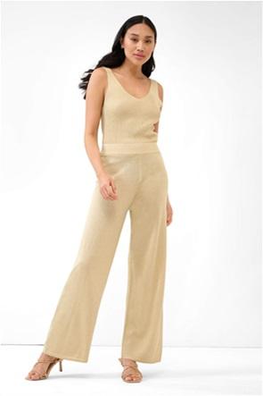 Orsay γυναικεία παντελόνα lurex