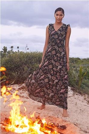 Orsay γυναικείο maxi φόρεμα με floral print