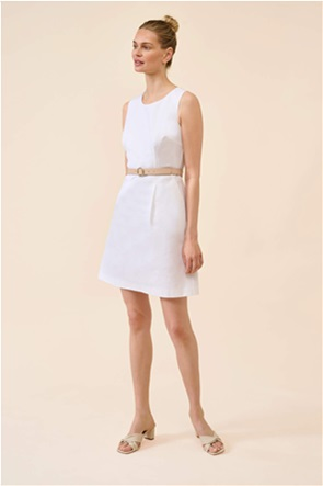 Orsay γυναικείο mini φόρεμα με contrast ζώνη στη μέση