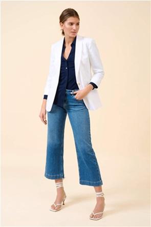 Orsay γυναικείο blazer μονόχρωμο με flap τσέπες