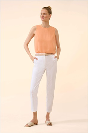 Orsay γυναικείο παντελόνι με τσάκιση και ζώνη στη μέση