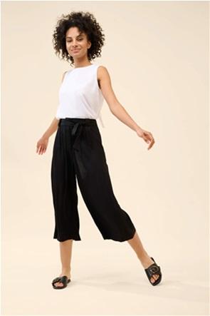 Orsay γυναικεία ζιπ κιλότ μονόχρωμη με ζώνη στη μέση