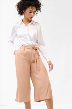Orsay γυναικείο πουκάμισο σατινέ με απλικέ τσέπη στο στήθος