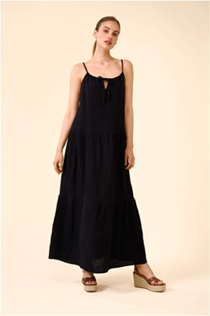 Orsay γυναικείο maxi φόρεμα με διακοσμητικές ραφές