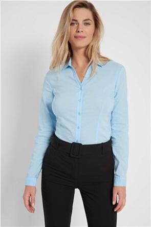 Orsay γυναικείο πουκάμισο μονόχρωμο Slim Fit