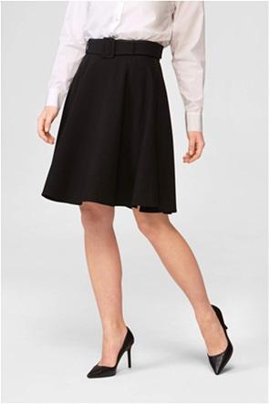 Orsay γυναικεία mini φούστα μονόχρωμη με ζώνη στη μέση