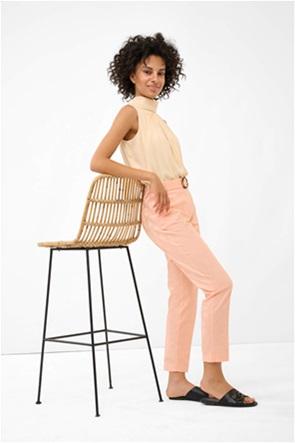 Orsay γυναικείο παντελόνι με ζώνη στη μέση από το ίδιο ύφασμα