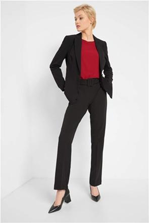Orsay γυναικείο παντελόνι μονόχρωμο με ζώνη στη μέση