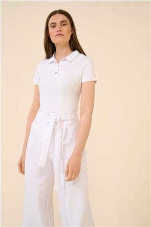 Orsay γυναικεία πόλο μπλούζα μονόχρωμη
