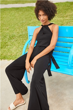 Orsay γυναικεία ολόσωμη φόρμα με ζώνη στη μέση