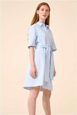 Orsay γυναικείο mini φόρεμα ριγέ σεμιζιέ