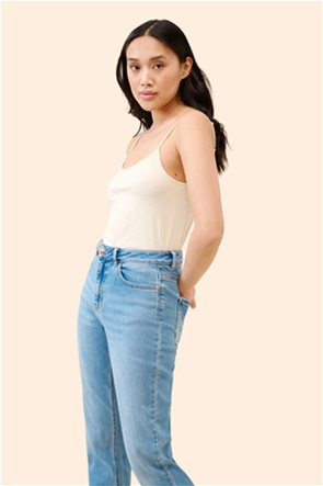 Orsay γυναικεία μπλούζα μονόχρωμη με λεπτές τιράντες