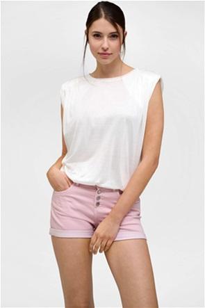 Orsay γυναικεία μπλούζα αμάνικη με βάτες