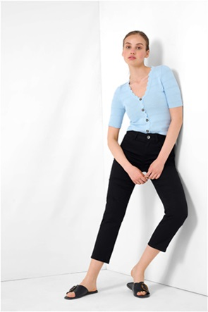 """Orsay γυναικείο παντελόνι cropped """"Powerstretch"""" Straight Fit"""