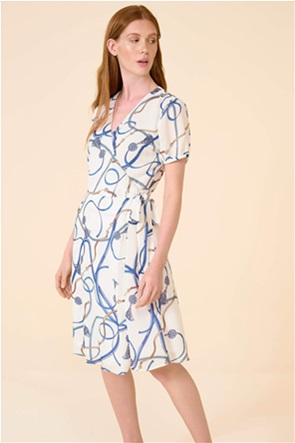 Orsay γυναικείο midi φόρεμα με all-over print