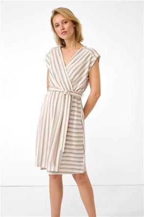 Orsay γυναικείο mini φόρεμα  κρουαζέ με ρίγες