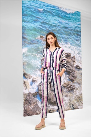 Orsay γυναικείο παντελόνι με tie-dye print
