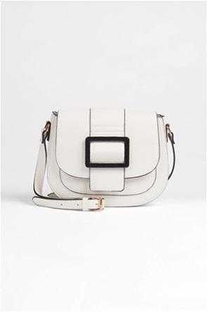Orsay γυναικεία τσάντα ώμου με leather look