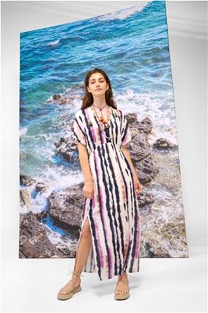 Orsay γυναικείο maxi φόρεμα με all-over tie-dye print