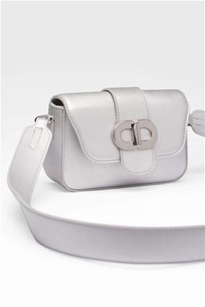 Orsay γυναικεία τσάντα crossbody με μεταλλική αγκράφα