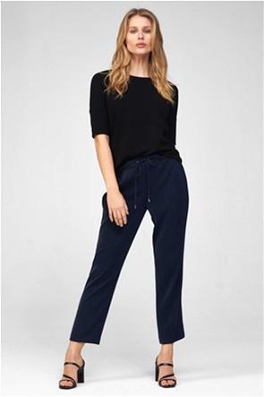 Orsay γυναικείο παντελόνι μονόχρωμο με τσάκιση Straight Cut