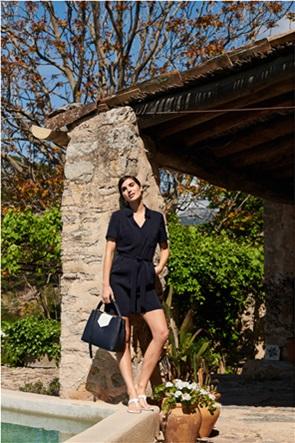 Orsay γυναικεία φόρμα ολόσωμη με ζώνη