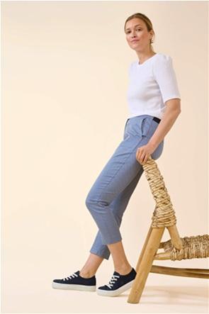 Orsay γυναικείο chino παντελόνι με μικροσχέδιο print