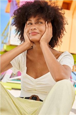 Orsay γυναικεία μπλούζα με διακοσμητικές σούρες