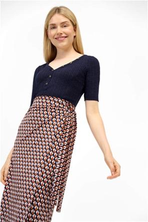 Orsay γυναικεία μπλούζα με ανάγλυφο ριγέ σχέδιο