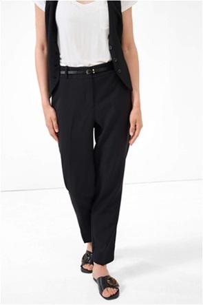Orsay γυναικείο παντελόνι cigarette με ζωνάκι