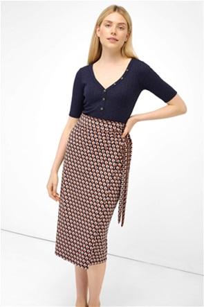 Orsay γυναικεία midi φούστα κρουαζέ
