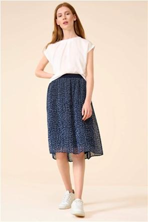 Orsay γυναικεία φούστα πλισέ με floral print