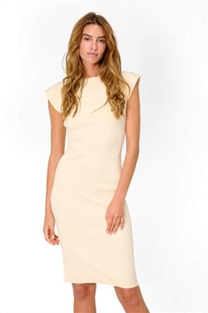 Orsay γυναικείo φόρεμα με ribbed σχέδιο
