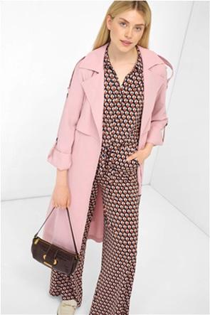 Orsay γυναικείο midi παλτό με ζώνη στη μέση