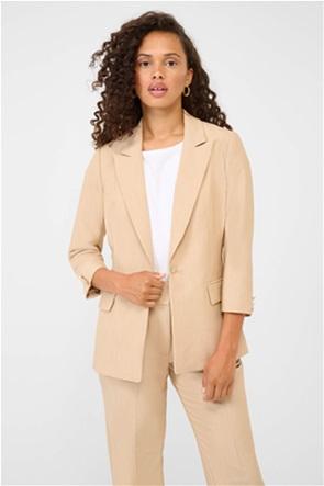 Orsay γυναικείο σακάκι μονόχρωμο με μανίκι 3/4 και διακοσμητικά κουμπιά