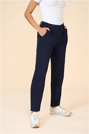 Orsay γυναικείο παντελόνι μονόχρωμο με τσακίσεις