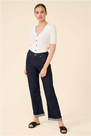 Orsay γυναικείο τζην παντελόνι ψηλόμεσο Straight Fit