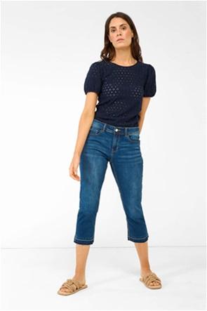 Orsay γυναικείο τζην παντελόνι κάπρι