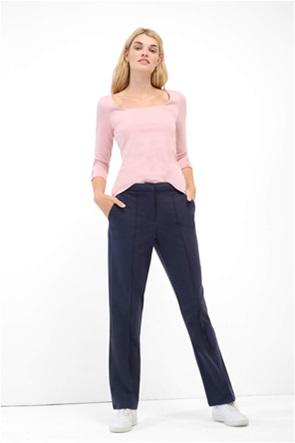 Orsay γυναικείο παντελόνι casual μονόχρωμο