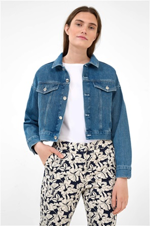 Orsay γυναικείο denim μπουφάν oversized