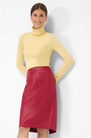 Orsay γυναικεία midi φούστα pencil faux leather