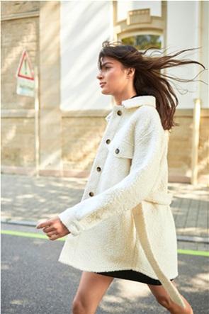Orsay γυναικείο παλτό με ζώνη στη μέση